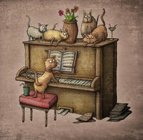 cats by samuel123