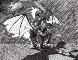 Danny Halloween Masterpiece by EnigmaticPenguin