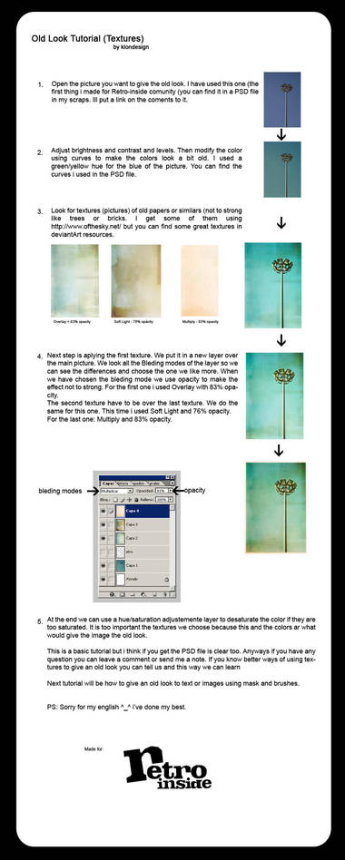 Tutorial 1 - Old Look ENG by Retro-Inside