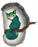 Cheshire catty by sapphire-kun