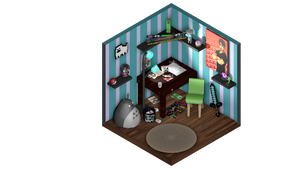 Isomeric TRASH Room by Grim-Switcher