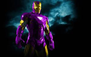 Iron Man Mix Purple+Gold by 666Darks