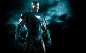 Iron Man Aqua Mix by 666Darks