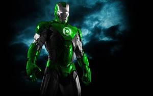 Iron Man Green Lantern Armor by 666Darks