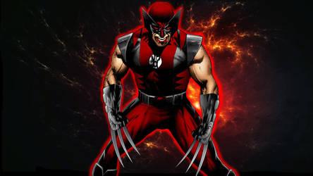 Red Lantern Wolverine by 666Darks