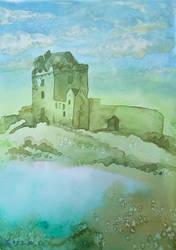 Ruins of Irish Castle by MirielVinya
