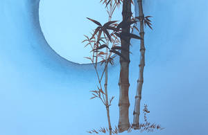 Bamboo and the Moon by MirielVinya