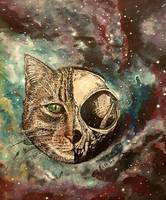 Schroedinger's cat by MirielVinya