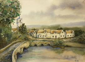 An English Town by MirielVinya