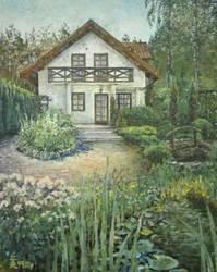 Summer Garden by MirielVinya