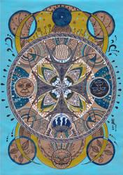 Mandala - Water by MirielVinya