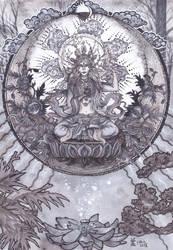 Sherab Czamma - Loving Mother of Wisdom by MirielVinya