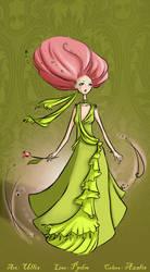 +COLLAB+  Lady Tulip by miss-azalis