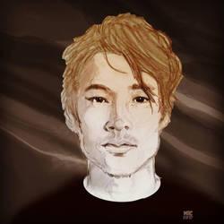 Steve Yeun by Sylvaroth