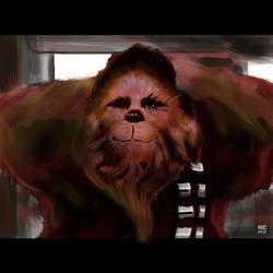 Chewbacca by Sylvaroth