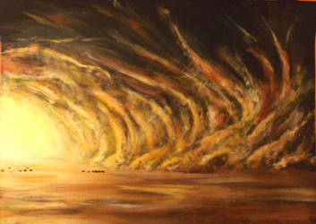 Sandstorm (Mad Max: Fury Road fanart) :) by WormholePaintings