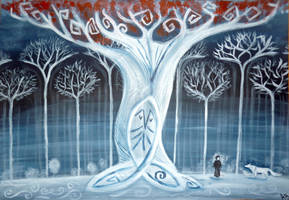 Heart Tree by WormholePaintings