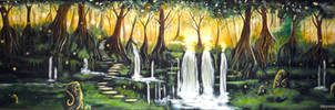 Enchanted forest.. by WormholePaintings