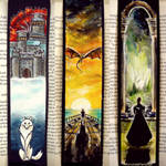 GoT bookmarks :)) by WormholePaintings