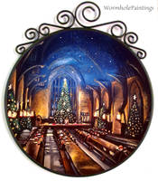 Christmas in the Great Hall ^^ by WormholePaintings