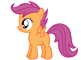 Scootaloo Vector by Anxet