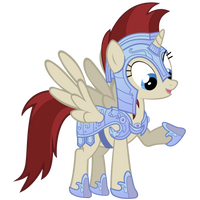 Akira Vector - Crystal Pony Armor by Anxet
