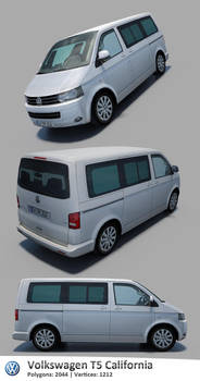Volkswagen T5 California '2009 by RaMoNVicious