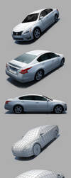 Nissan Altima 2013 by RaMoNVicious