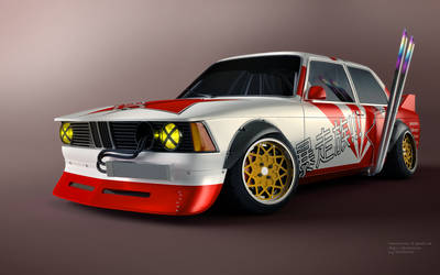 BMW e21 Bosozoku by RaMoNVicious