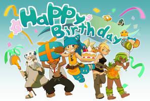 Birthday card by Fen825