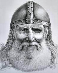 Odin Allfather by Wolverat
