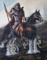 Odin by Wolverat