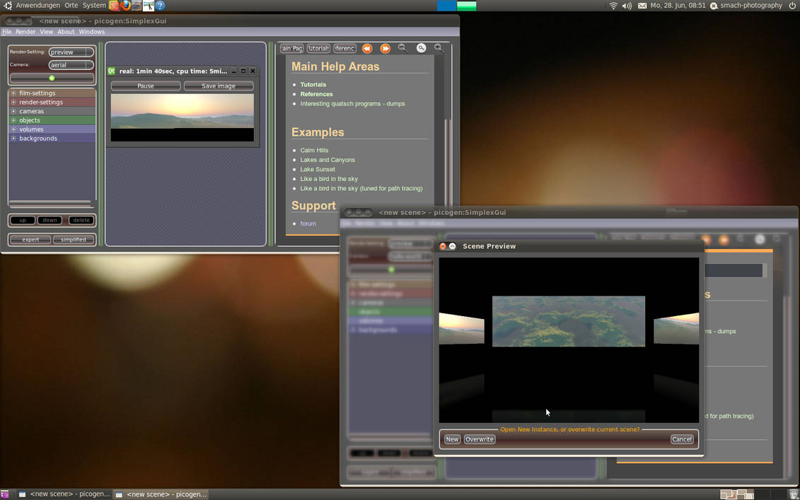 picogen 0.3 beta6 - In action by phresnel