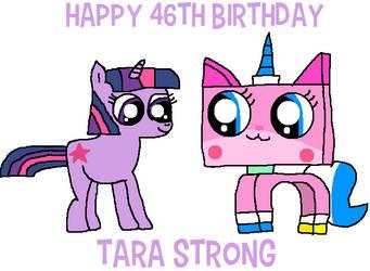 Happy 46th Birthday, Tara Strong by macloud34100