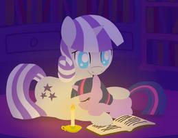 Twilight Velvet and Twilight Sparkle by FlutterLuv