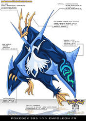 Pokedex 395 - Empoleon FR by frbrothers86