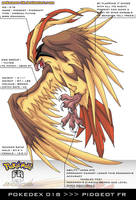Pokedex 018 - Pidgeot FR by frbrothers86