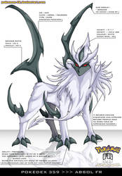Pokedex 359 - Absol FR by frbrothers86