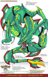 L'Pokedex 384 - Rayquaza FR by frbrothers86