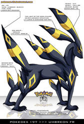 Pokedex 197 - Umbreon FR by frbrothers86