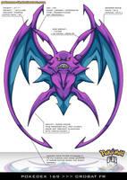 Pokedex 169 - Crobat FR by Pokemon-FR