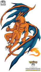 PokemonFRID 04 - Charizard by frbrothers86