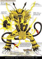 Pokedex 466 - Electivire FR by Pokemon-FR