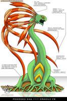 Pokedex 346 - Cradily FR by Pokemon-FR