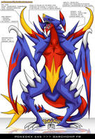 Pokedex 445 - Garchomp FR by Pokemon-FR