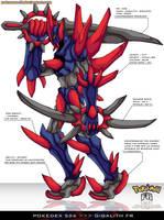 Pokedex 526 - Gigalith FR by Pokemon-FR