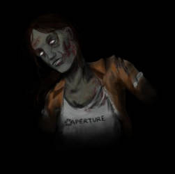 Zombie Chell by RosieFreakish