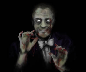 Zombie Derren Brown by RosieFreakish
