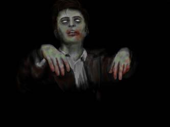Zombie David Tennant by RosieFreakish
