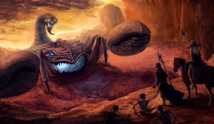 Death Colossus by mugshotpro